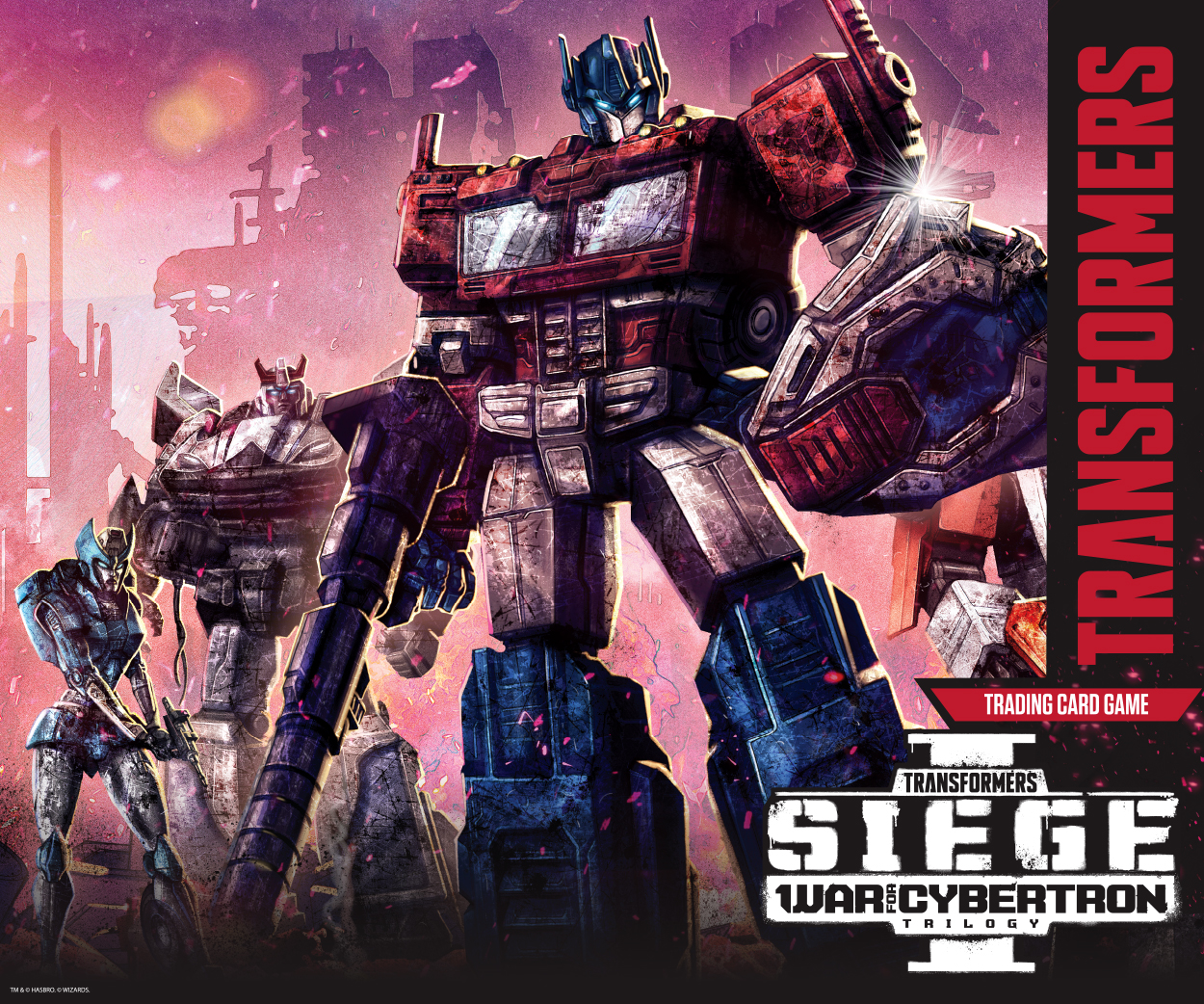 Transformers TCG - Siege I Marketing