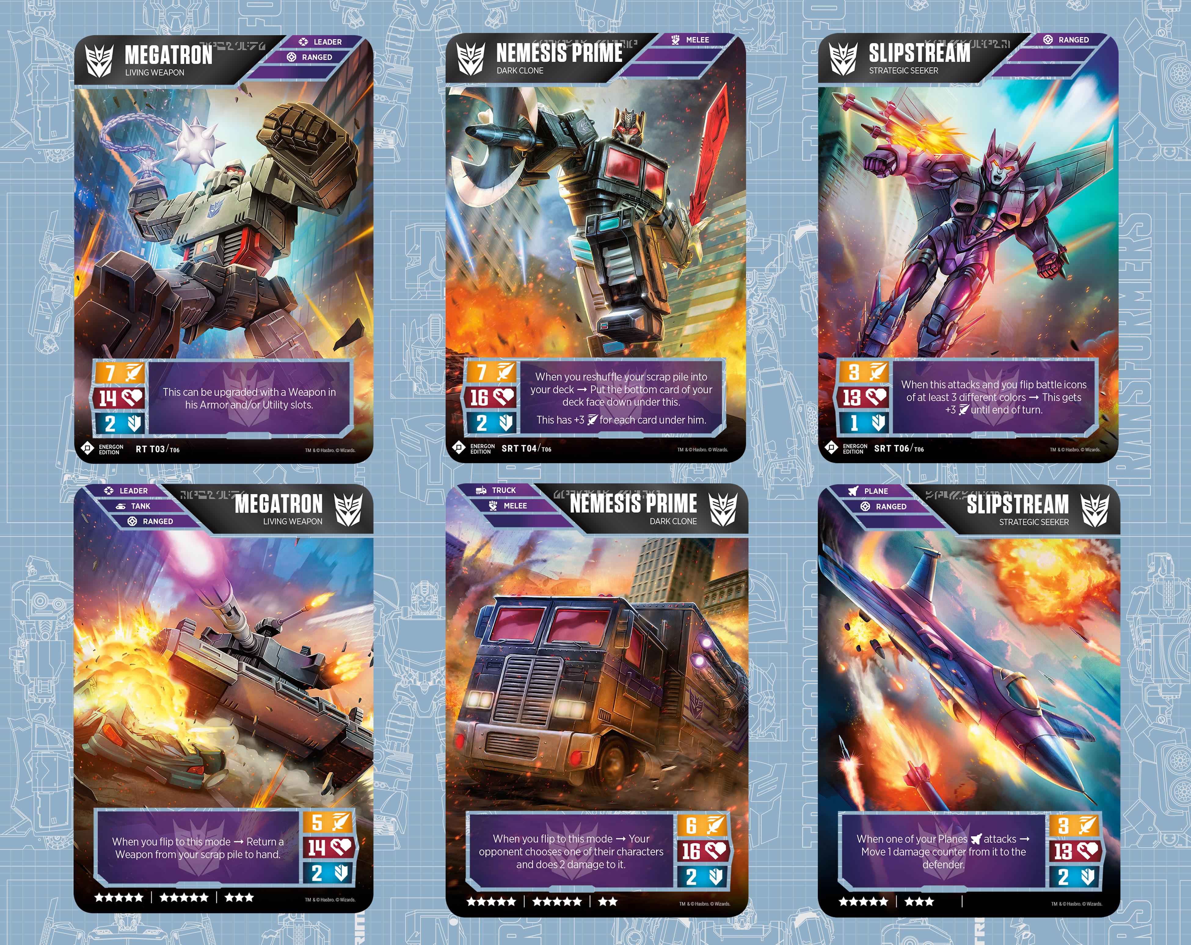 Transformers TCG - EE Decepticons