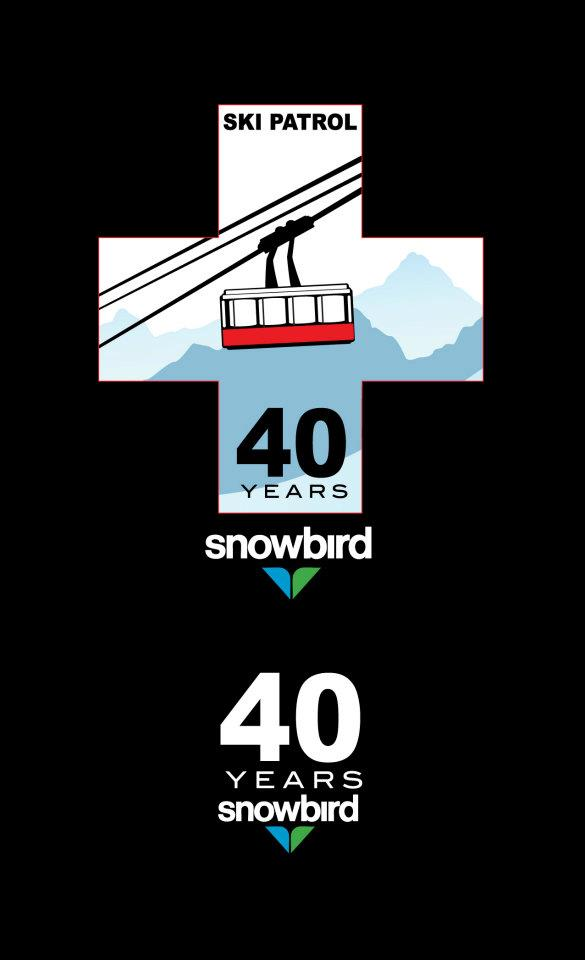 Snowbird Resort 40th Anniversary Art