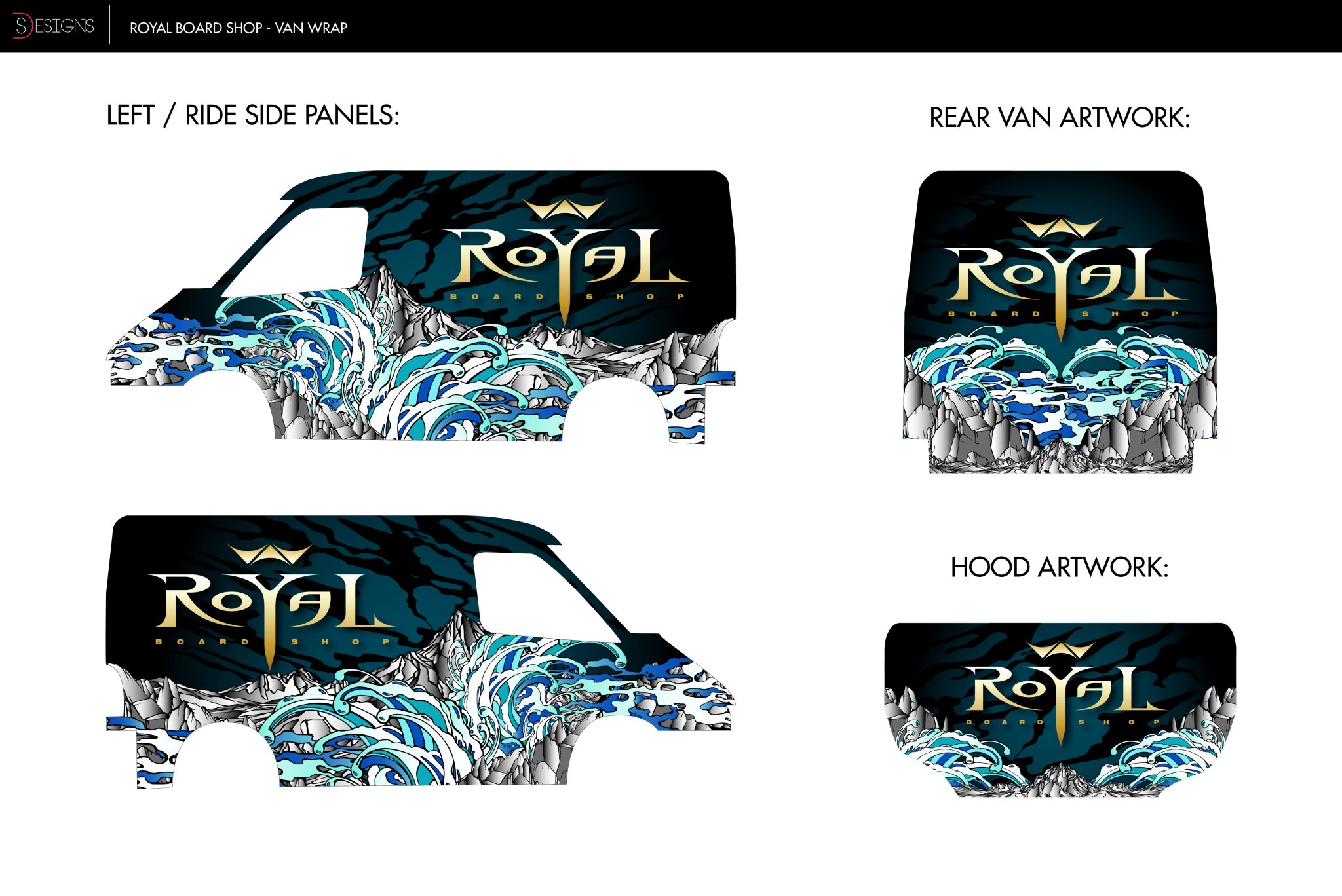 Royal Board Shop - Vehicle Wrap