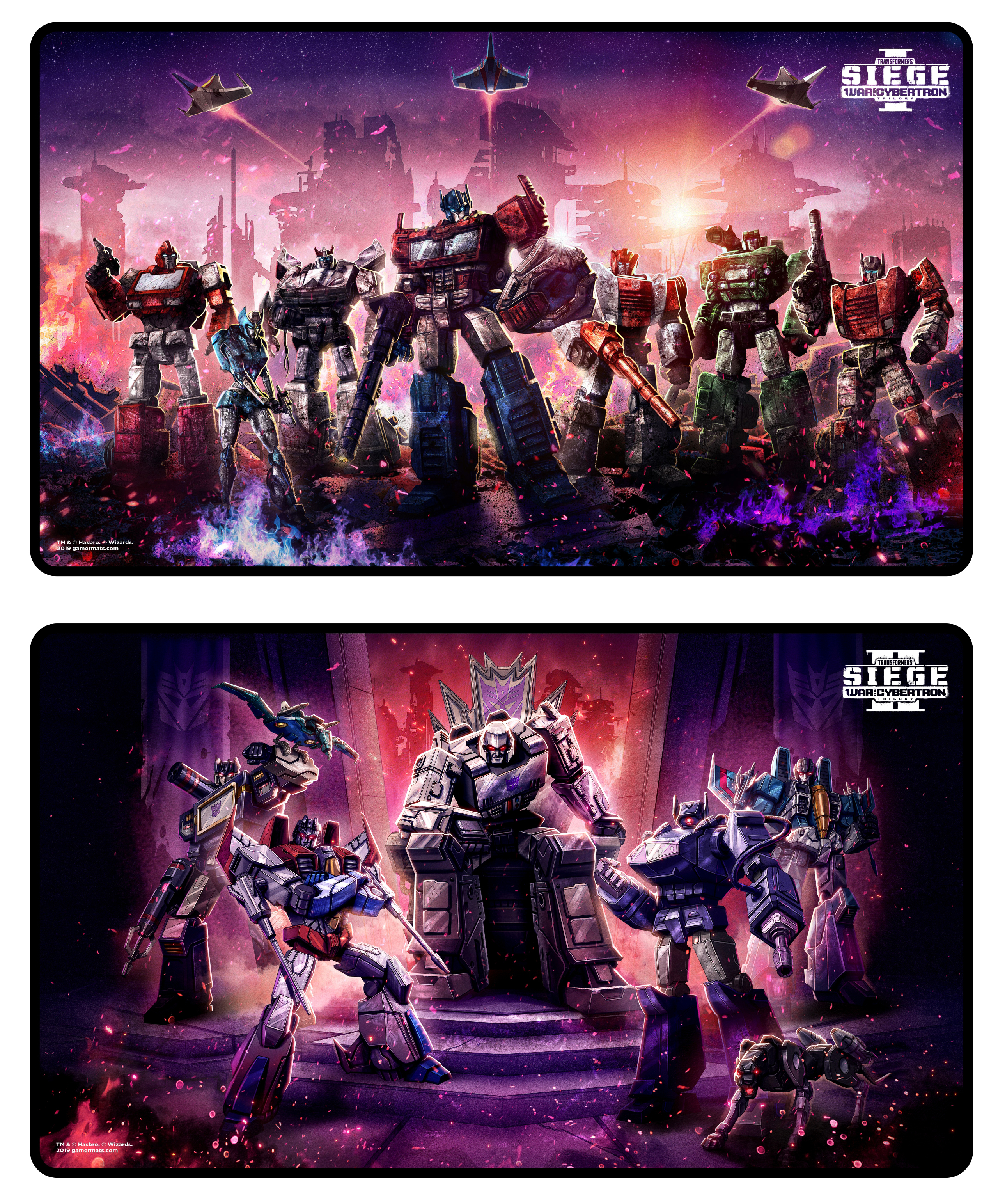 PAX - Transformers Reversible Playmat