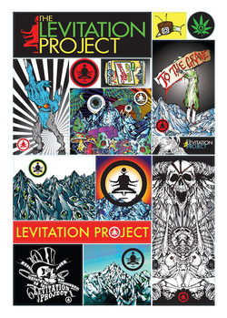 LP Sticker Sheet