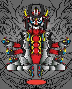 Samurai Buddha