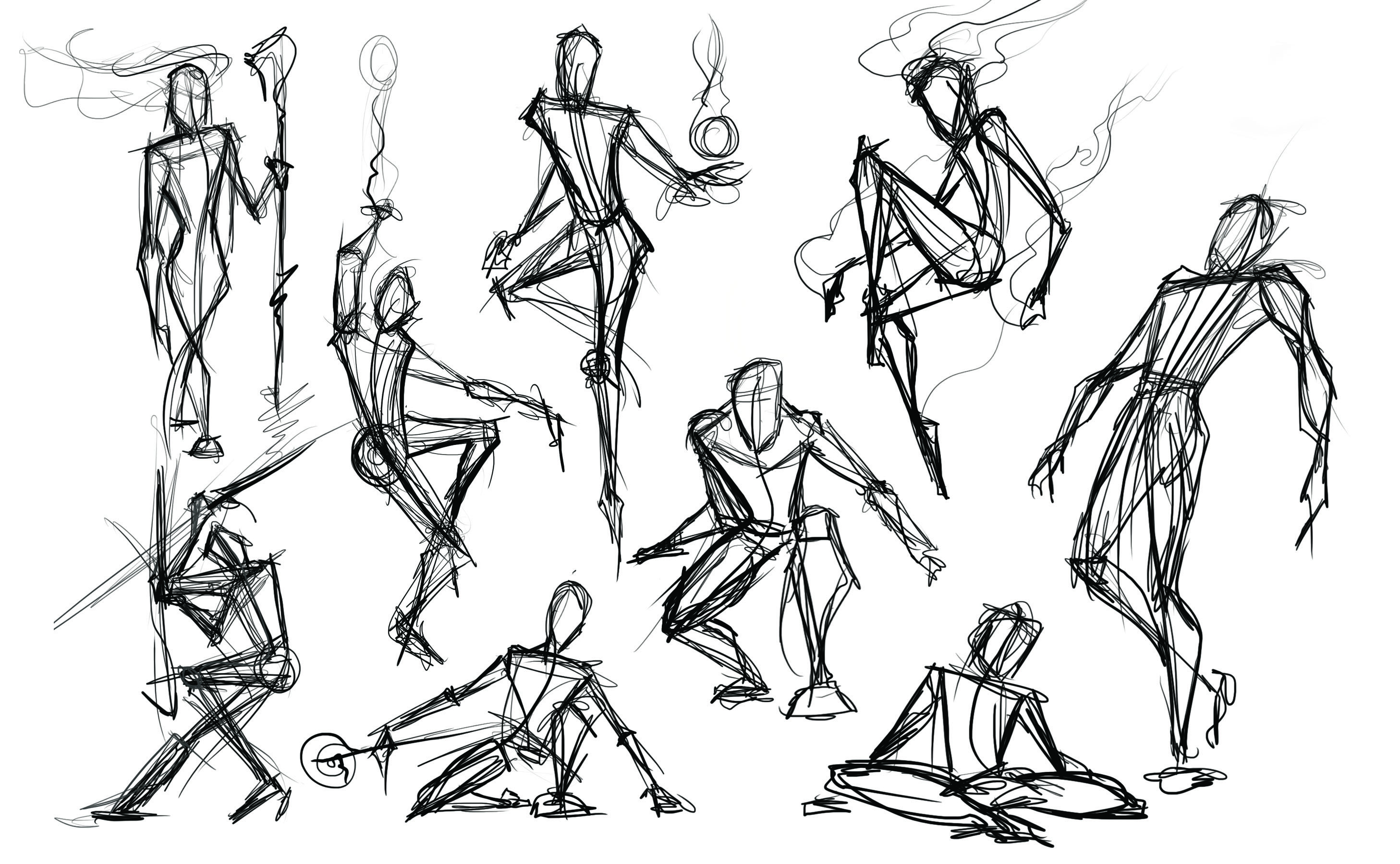 Figure Studies - Line and Form
