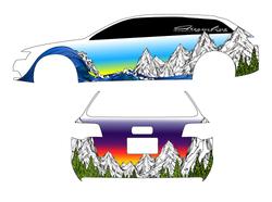 Streamline Industries - Vehicle Wrap