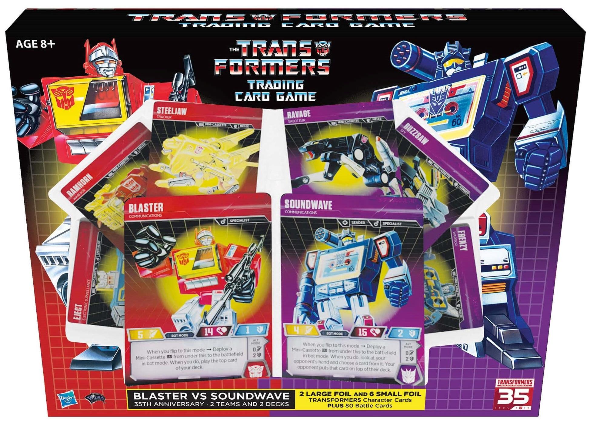 TRANSFORMERS TCG - Blaster vs