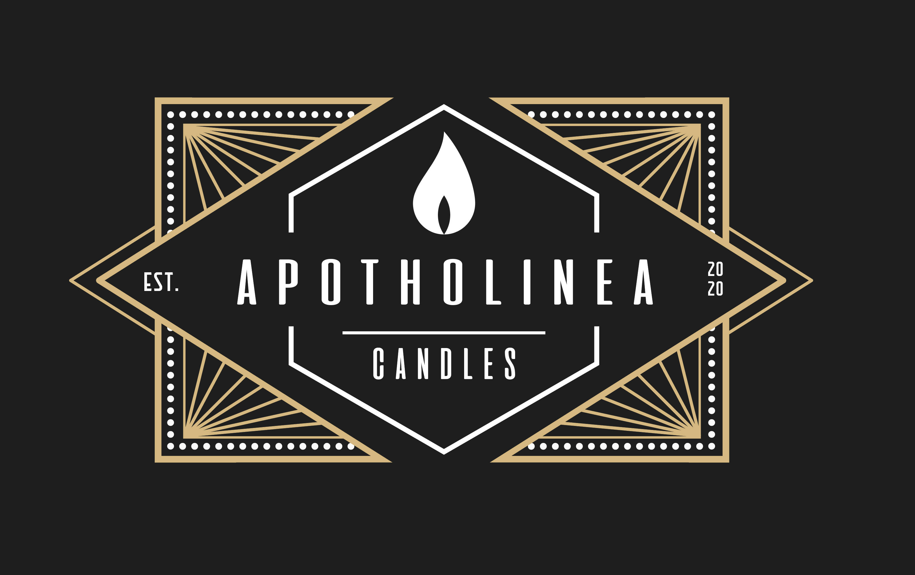 Apotholinea Candles - Product Label