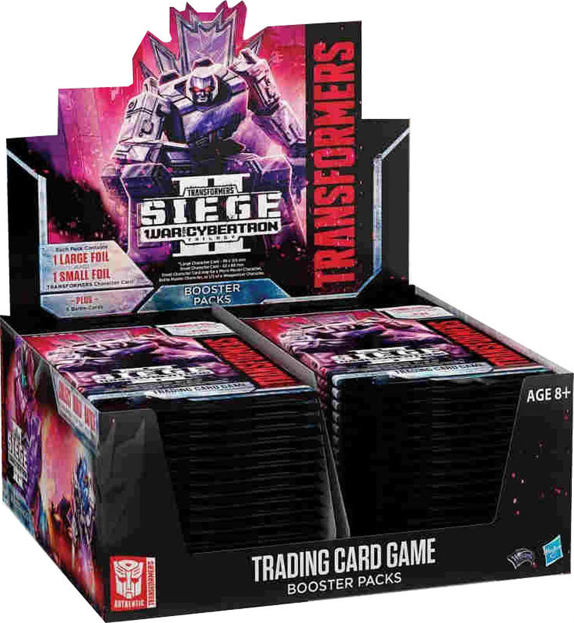 Transformers TCG - Siege II Booster Disp