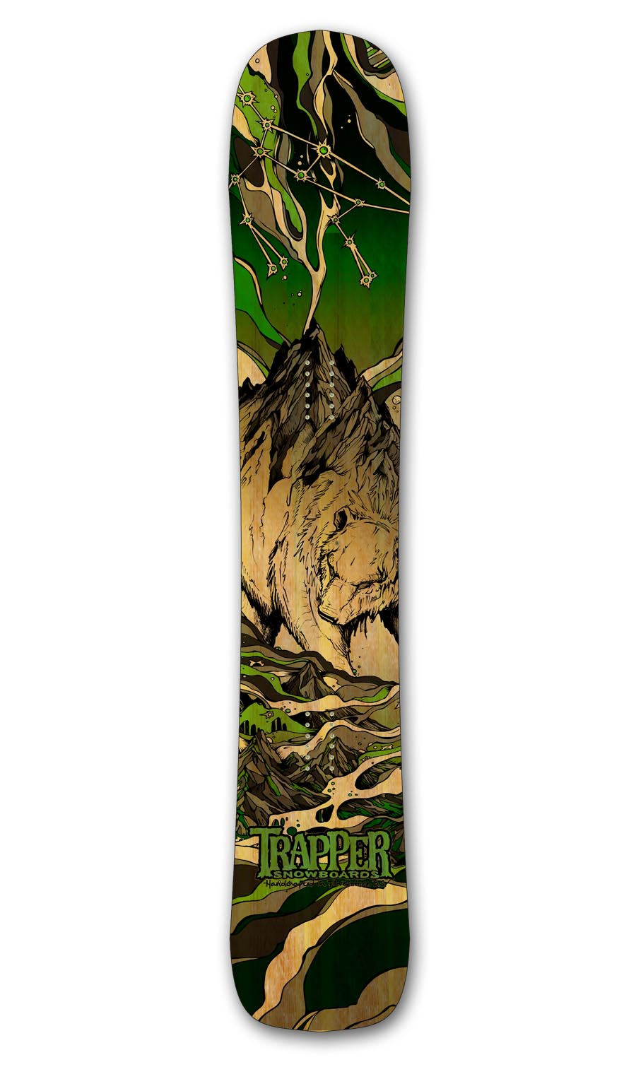 Trapper Snowboars URSA MAJOR board