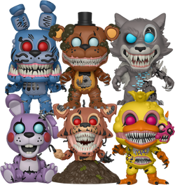 Five Nights at Freddy's Twisted Pops!