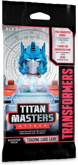 Titan Masters Attack Flowwrap