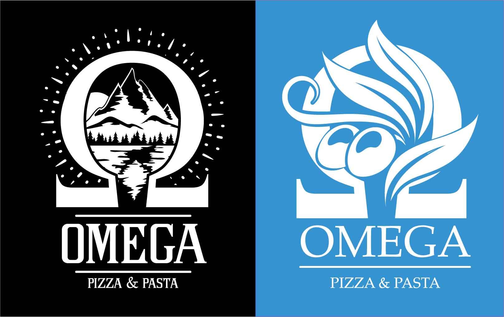 Omega Pizza & Pasta - Logos