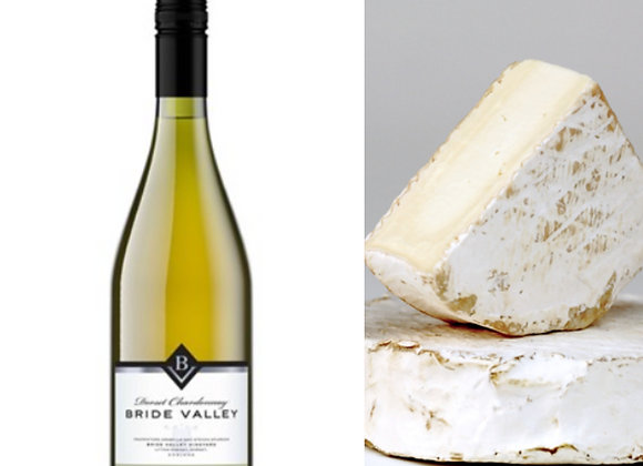 Chardonnay & Goat Brie