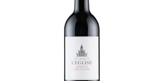 Les Vignes de L'Eglise, Merlot/Grenache IGP Pays d'Oc 75cl