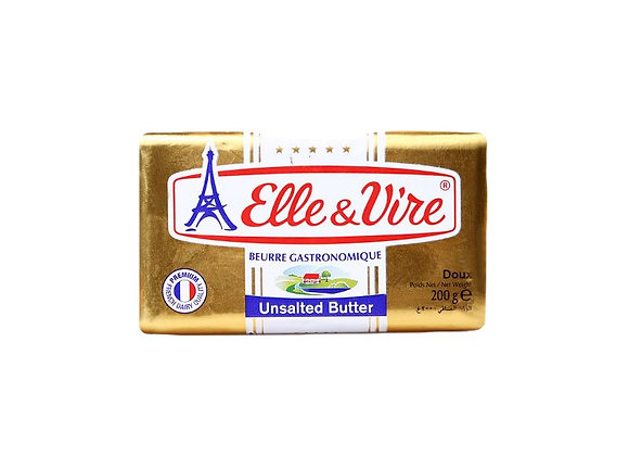 Elle & Vire French Butter - unsalted 200g