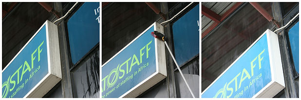Signage Cleaning Durban