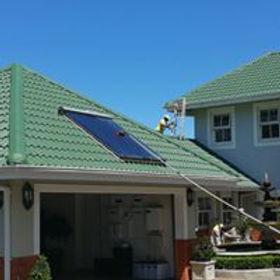 wash solar panel