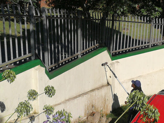 wall scrubbing