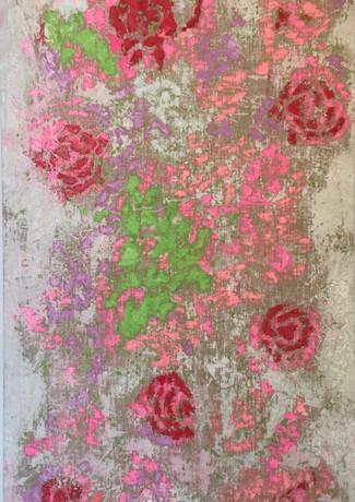 Graciela Montich Roses rug 200x130cm mix
