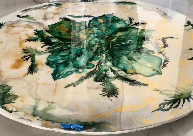 Graciela Montich Pop Art Table Diam 300x