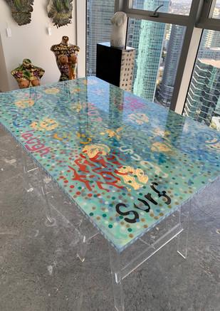Graciela Montich Pop art tables 2017.jpg