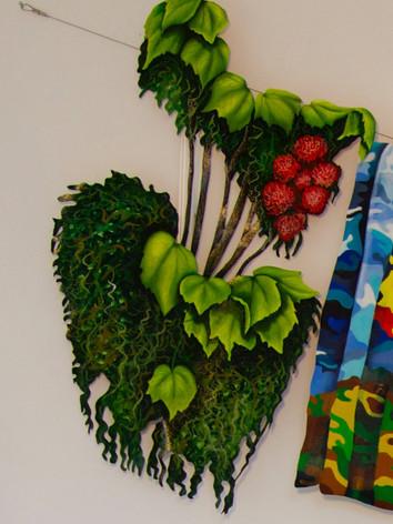 Plants and flowers gracing balconies 60x40 cm