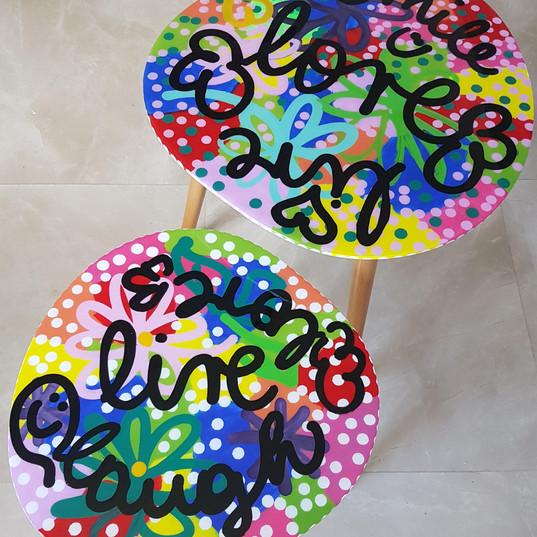 Pop Art small tables