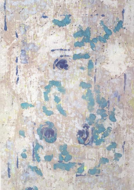 Graciela Montich Blue rug 1 200x100cm mi