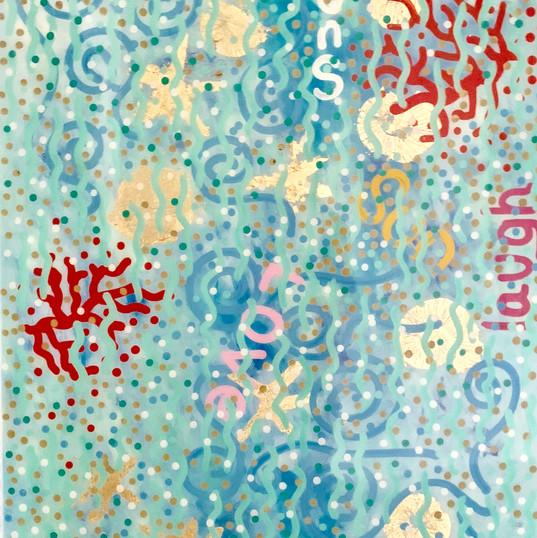 Pop art tables mixed media