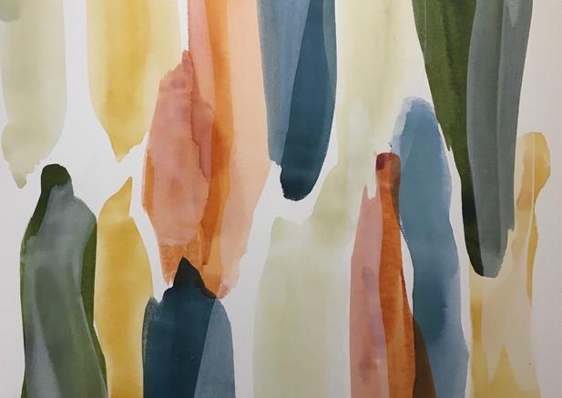 Alexandra Arata mixed media on canvas 39