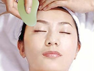 Gua Sha - an ancient  Chinese way of facial massage
