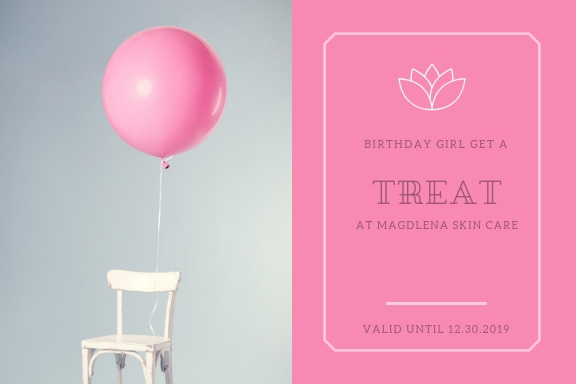 e- gift certificate b-day baloon magdale