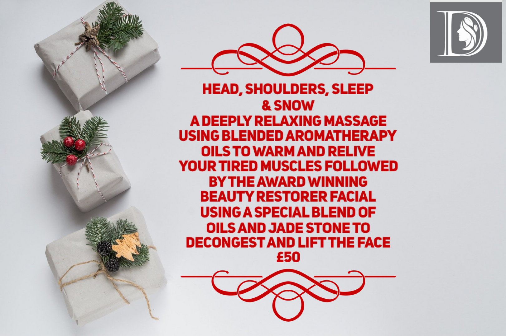 Head Shoulders Sleep and Snow Christmas 2020 Advent Event