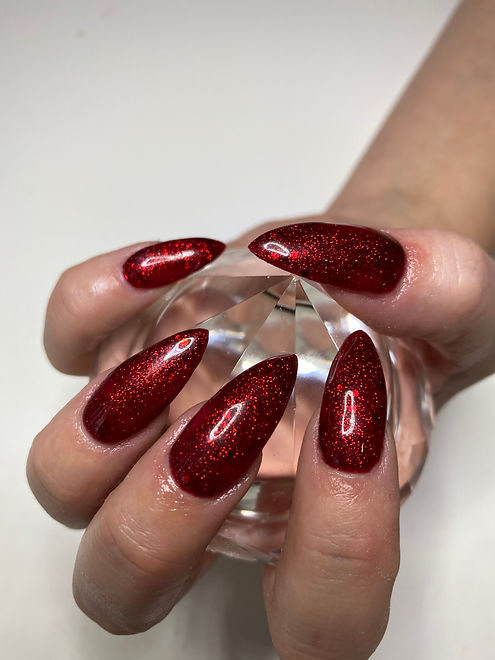 Christmas nails at DermalEssence