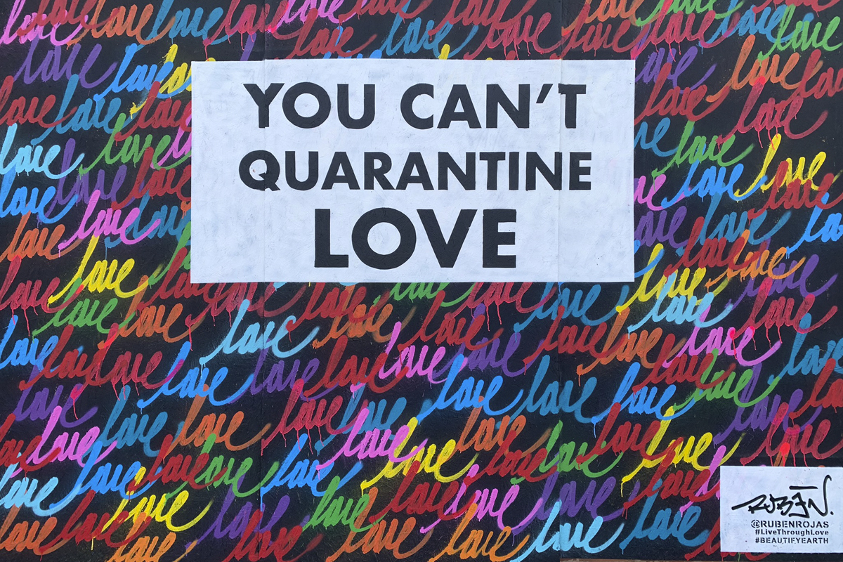 Rosemary Miklitsch You can't quarantine