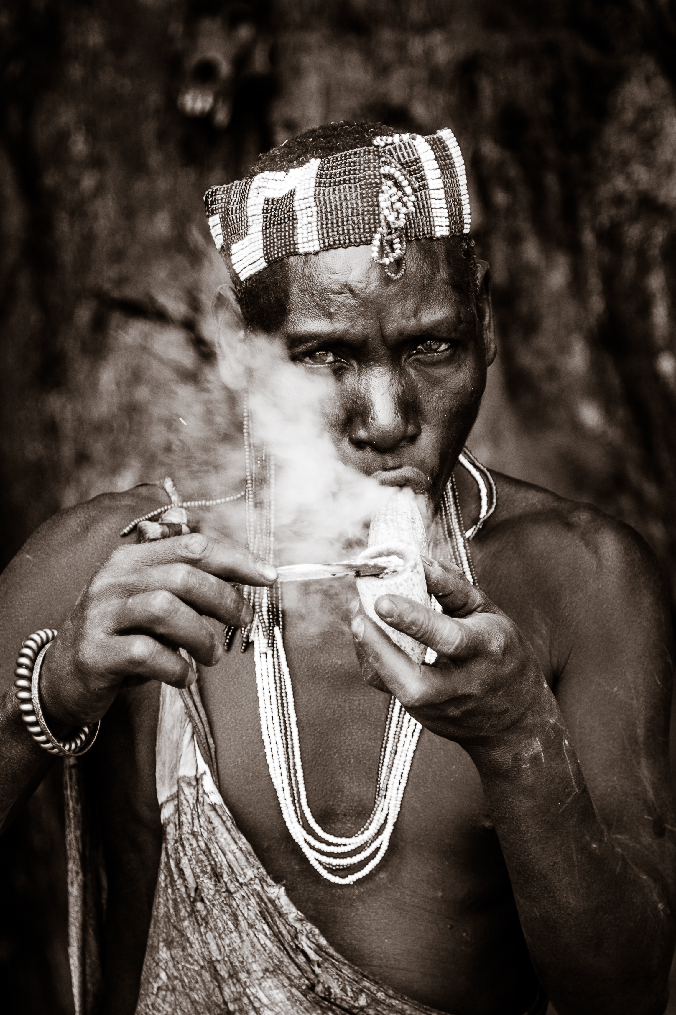Guy Needham - Hadzabe Smoker
