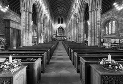 Dunblane Cathedral Interior Raymond Dorm