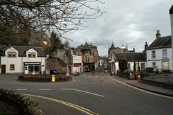Raymond Dormer Dunblane - A Town in Lock