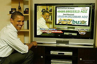 ADZcoin,ADZbuzzer,ADZbuzz,Obama