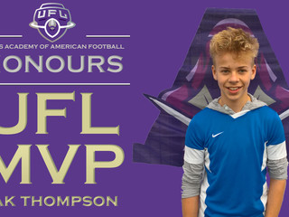 UFL I LEAGUE MVP - ZAK THOMPSON