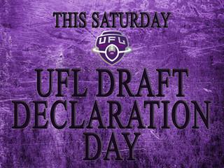 UFL III DRAFT DECLARATION DAY