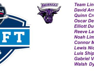 Mavericks Draft