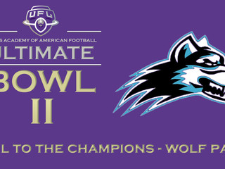 ULTIMATE BOWL CHAMPIONS - THE WOLF PACK