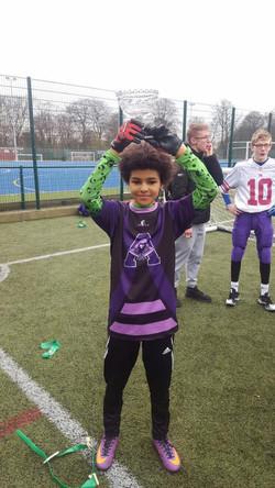 Gabriel Vassell Lifts The Bowl