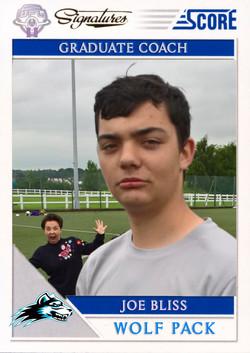 Trading Card - Joe Bliss