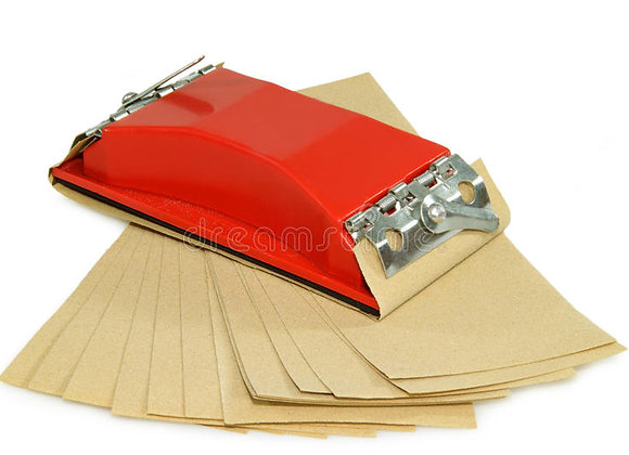 Sand Paper (Grade 40 - 1200)- per sheet