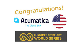 Acumatica is a Finalist at the Customer Centricity World Series