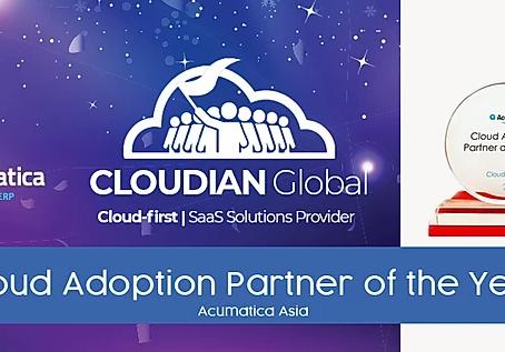 Acumatica Recognizes Cloudian Global as Cloud Adoption Partner for Asia