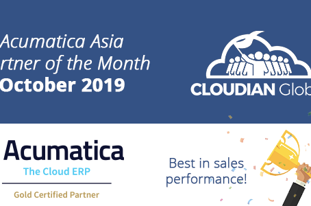 Cloudian Achieves Best Sales Performance and Acumatica Partner of the Month