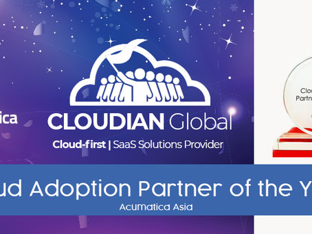 Acumatica Recognizes Cloudian Global as Cloud Adoption Partner for Asia